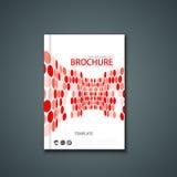 Wektorowa ulotka lub sztandar broszurka szablon Zdjęcie Stock