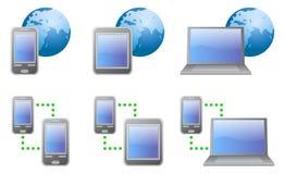 Wektorowe ikony (Komunikacje) Zdjęcie Stock