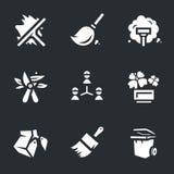 Wektorowe ikony Ustawiać użyteczności usługa ilustracja wektor