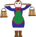 wektorowe ilustracj kobiety Obrazy Stock