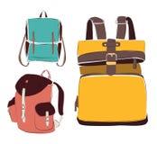 Wektorowe mod torby ustawiać Obraz Stock
