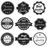 Wektorowe odznaki Ustawiają 1 Zdjęcie Stock