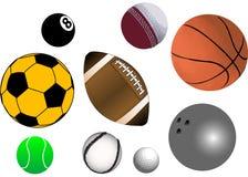 Wektorowe Piłki Fotografia Stock
