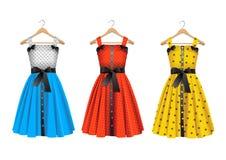 Wektorowe suknie Ilustracja Wektor