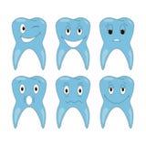 Wektorowe ząb emocje Obraz Royalty Free
