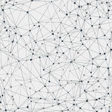 Wektorowego abstrakta wzoru bezszwowa geometryczna siatka na lekkim tle Zdjęcie Stock