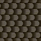 Wektorowego bezszwowego monochromu wzoru nowożytna elegancka tekstura Repea Zdjęcie Royalty Free