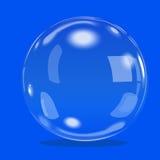 Wektorowego bubbl biała woda gulgocze z odbiciem ustawiającym na przejrzystej tło wektoru ilustraci Zdjęcia Royalty Free