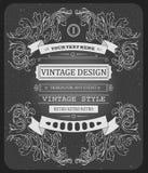 Wektorowego chłodno modnisia zaproszenia pięknego rocznika Typograficzny szablon ilustracja wektor