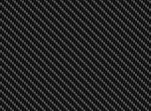 Wektorowego czarnego węgla włókna bezszwowy tło Fotografia Royalty Free