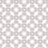 Wektorowego geometrycznego norwegu Xmas bezszwowy deseniowy tło zaszyci krzyże w neutralnym beżowym kolorze ilustracja wektor