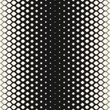 Wektorowego halftone bezszwowy wzór, siatki geometryczna tekstura ilustracji