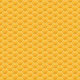 Wektorowego honeycomb bezszwowy wzór ilustracja wektor