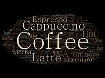 Wektorowego kreatywnie gorącego ranku włoska kawowa przerwa ilustracja wektor