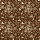Wektorowego kwiatu bezszwowy wzór Royalty Ilustracja