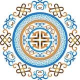 Wektorowego orientalnego chińskiego ornamentu azjatykci tradycyjny wzór Zdjęcie Stock