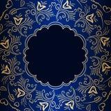 Wektorowego rocznika ornamentacyjny tło Fotografia Royalty Free