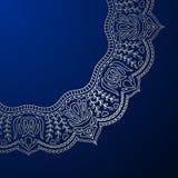 Wektorowego rocznika ornamentacyjny tło Zdjęcie Royalty Free