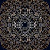 Wektorowego rocznika ornamentacyjny tło Obrazy Royalty Free