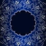 Wektorowego rocznika ornamentacyjny tło Obraz Royalty Free
