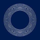 Wektorowego rocznika round ornamenty Obrazy Royalty Free