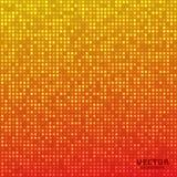 Wektorowej abstrakcjonistycznej jaskrawej mozaiki pomarańczowej czerwieni gradientowy tło Obrazy Royalty Free