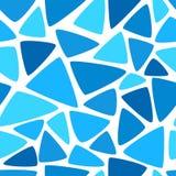 Wektorowej abstrakcjonistycznej kolorowej mozaiki bezszwowy wzór Zdjęcia Stock