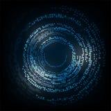 Wektorowej abstrakcjonistycznej tło technologii cyfrowy projekt Zdjęcie Royalty Free