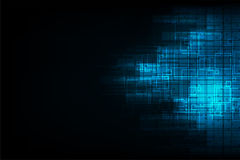 Wektorowej abstrakcjonistycznej tło technologii cyfrowy projekt Zdjęcia Stock
