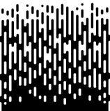 Wektorowej Halftone przemiany tapety Abstrakcjonistyczny wzór Bezszwowy Czarny I Biały Nieregularny Zaokrąglony linii tło dla Zdjęcia Royalty Free