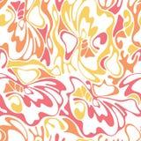 Wektorowej koloru rysunku fala pogodny tło Gradientowy abstra Obraz Royalty Free