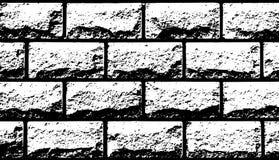 Wektorowej tekstury białe dekoracyjne płytki w formie cegła Zdjęcia Stock