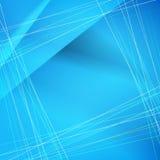 Wektorowi abstrakcjonistyczni błękitni tła Zdjęcie Royalty Free
