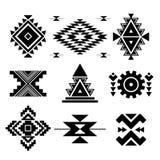 Wektorowi abstrakcjonistyczni geometryczni elementy Fotografia Stock