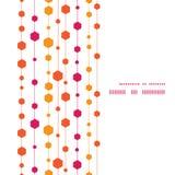 Wektorowi abstrakcjonistyczni kolorowi lampasy i kształty Obrazy Stock