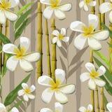 Wektorowi egzotów kwiaty royalty ilustracja