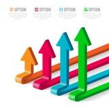 Wektorowi elementy dla infographic Zdjęcia Stock