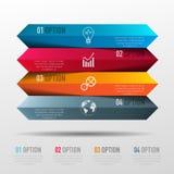 Wektorowi elementy dla infographic Obrazy Stock