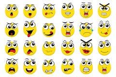 Wektorowi Emoticons Fotografia Stock