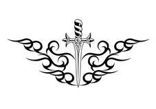 wektorowi ilustracj skrzydła Obrazy Royalty Free