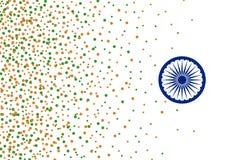 Wektorowi 15 India dnia niepodległości august tło Obrazy Stock
