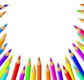 Wektorowy ołówka tło Zdjęcie Royalty Free