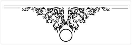 Wektorowi projektów elementy dla tittle strony Obraz Royalty Free