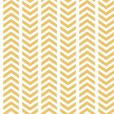 Wektorowy Żółty Biały Łamający szewronu Bezszwowy wzór royalty ilustracja