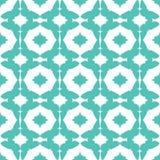 Wektorowy Abstrakcjonistyczny Aqua zieleni motyla diament Obraz Royalty Free