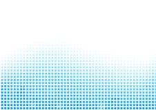 Wektorowy abstrakcjonistyczny błękitny siatki tło ilustracja wektor