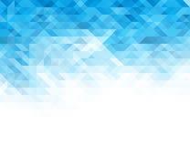 Wektorowy abstrakcjonistyczny bławy geometryczny tło ilustracja wektor