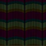 Wektorowy abstrakcjonistyczny bezszwowy kolorowy pluskoczący zasłona wzór ilustracji