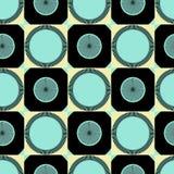 Wektorowy abstrakcjonistyczny bezszwowy wzór lub tło Obraz Stock