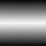 Wektorowy abstrakcjonistyczny czarny i biały kropkowany gradientowy tło Fotografia Royalty Free
